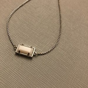 Kendra Scott Adjustable Bracelet in White Pearl